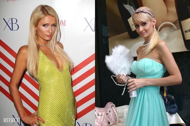 Paris Hilton és Dénes Nóra
