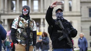 Tüntetések szerveződnek az USA-ban a karantén ellen