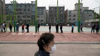 Dél-Koreában megállni látszik a koronavírus terjedése