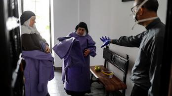 Spanyolországban hetek óta először 500 alá csökkent a napi halálozás