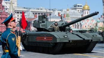 Az oroszok kipróbálták a szupertankjukat Szíriában