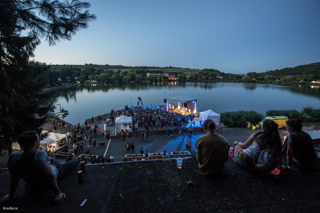 Koncert a 2017-es Bánkitó Fesztiválon