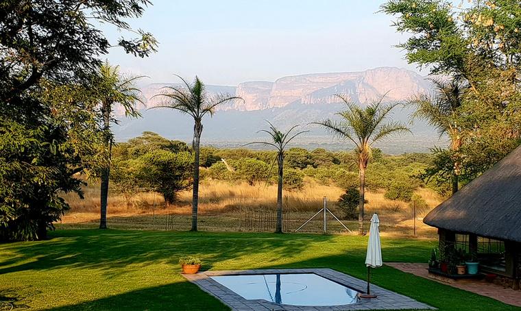 Gina a dél-afrikai Limpopóban él
