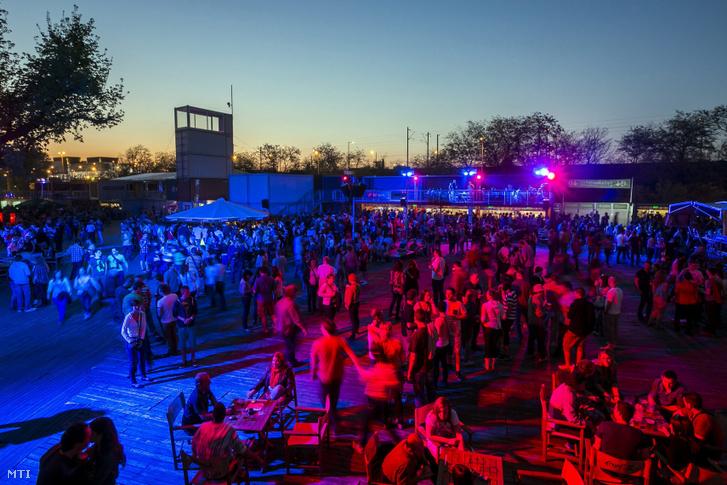 Koncert a Budapest Park nyitónapján 2013. április 25-én