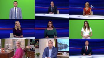 A TV2 híradósai és műsorvezetői is előadták az Európa koronavírus miatt aktualizált feldolgozását