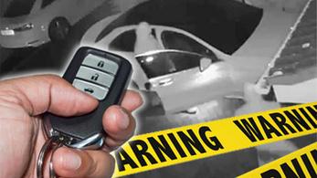 Elfogták a jelblokkolót használó budapesti tolvajokat, akik január óta fosztogattak autókat