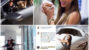 Vajna Tímea legzavarbaejtőbb, legszexibb és legszokatlanabb pillanata az Instagramon
