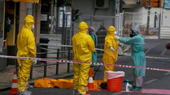 Több mint 130 menedékkérő kapta el a koronavírust egy lisszaboni hotelben