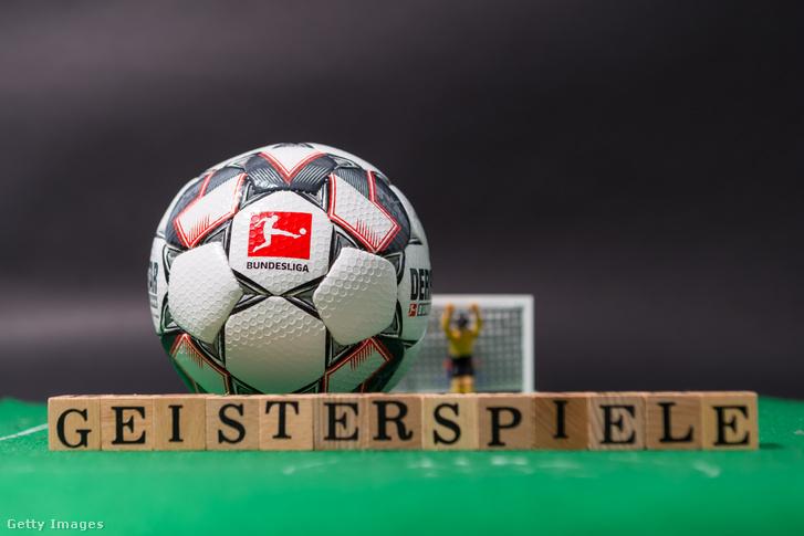 Szellemmeccsekkel, vagyis zárt kapus találkozókkal térhet vissza a Bundesliga