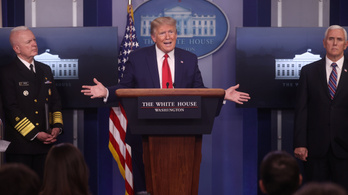 Trump a járvány miatt átmenetileg felfüggeszti a bevándorlást