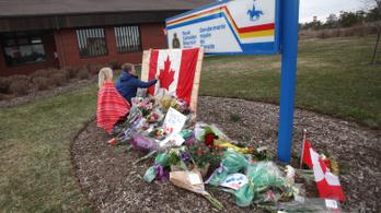 Tizenkilencre nőtt a kanadai lövöldözés áldozatainak száma