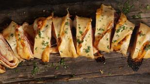 Sósan is készülhet izgalmas rétes – juhtúróval, kaporral és baconnel tartalmas fogás lesz belőle