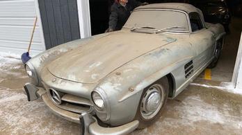 Negyven év után találtak rá egy baromi ritka Mercedesre