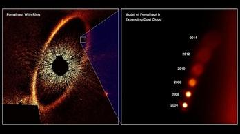 Nyomtalanul eltűnt egy exobolygó