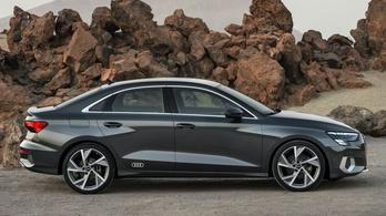 Megjött az új Audi A3 szedán