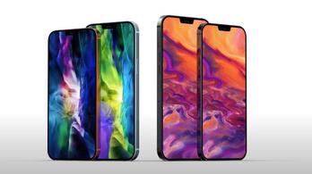 Jelentős dizájnváltást hozhat az új iPhone