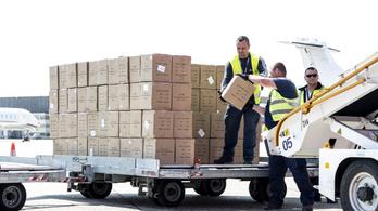 170 ezer koronavírusteszt érkezett Kínából