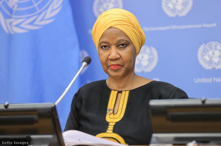 Phumzile Mlambo-Ngcuka, az ENSZ Nők ügyvezetõ igazgatója
