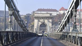 Újratervezik Budapest költségvetését, csúszhat a Lánchíd felújítása