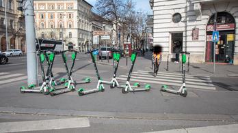Eltűntek a Lime e-rollerjei Budapest utcáiról