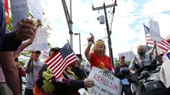 Ugyanazok tüntetnek a karantén miatt, akik a klímavédelem ellen is küzdenek?
