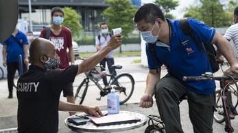 10 ezer fertőzött van az egyszer már győztes Szingapúrban