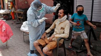 Indiában felfüggesztik az antitestteszteket