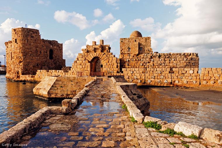 A libanoni kikötőváros, Szidón egy a legfontosabb föníciai városok közül