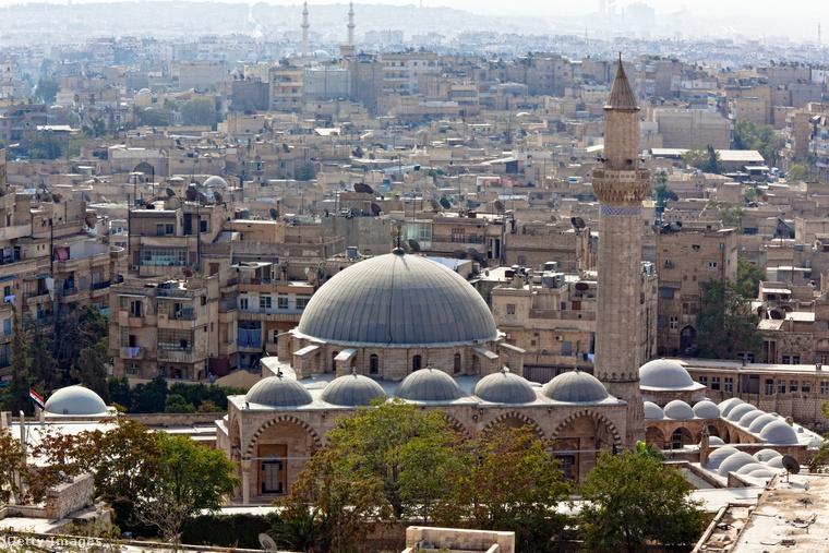Aleppó 1,8 milliós lakosságával ma Szíria második legnépesebb városa