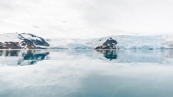 Az antarktiszi jégben is van mikroműanyag