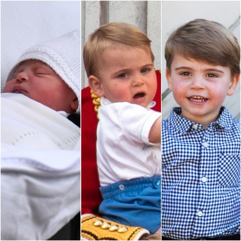 Boldog születésnapot Lajos herceg! Mutatjuk, hogy mennyit változott az elmúlt két évben.