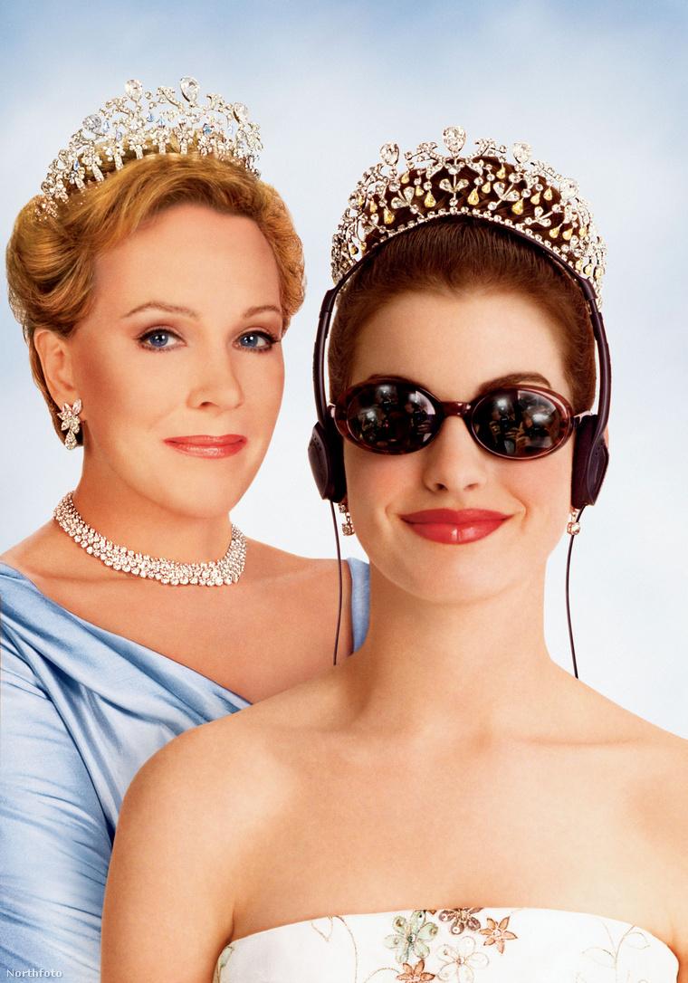 A Neveletlen hercegnő c. 2001-es film plakátja.
