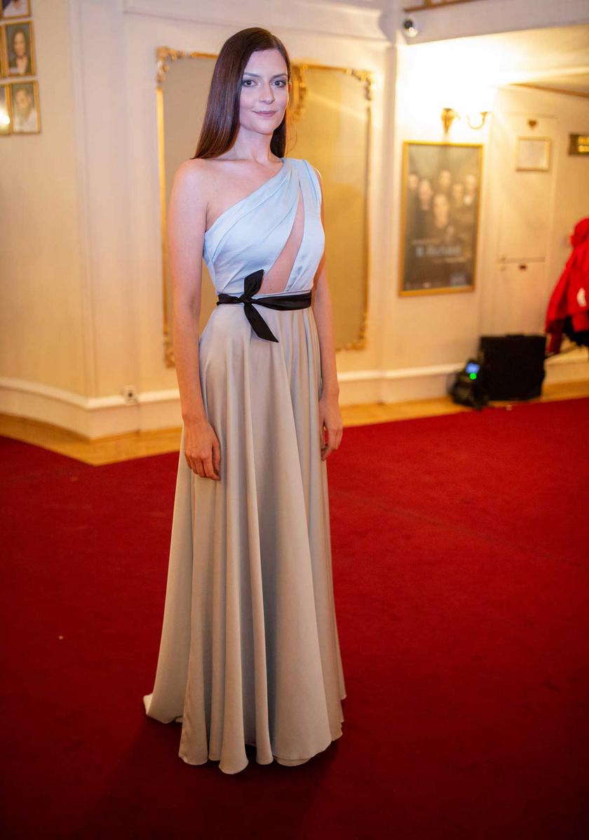 Gera Marina 2020. március 5-én, a Vígszínházban megrendezett 5. Magyar Filmdíj-gálán.