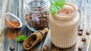 Ezzel a banános-kávés smoothie-val letudod a reggeli kávét, gyümölcsöt és még a napi csalást is