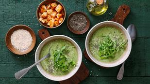 Tárkonyos salátaleves tejszínnel – friss, tavaszi és könnyű fogás
