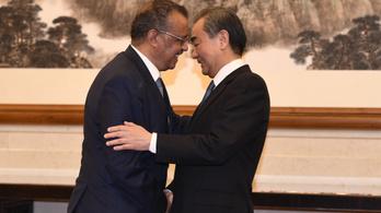 Kína 30 millió dollárt ad a WHO-nak