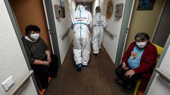 A vírus európai áldozatainak majd fele idősotthonokban élt