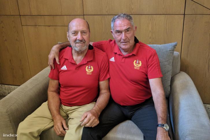Tatai Tibor és Hesz Mihály 2018-ban. Az 1968-as volt az első olyan olimpia, amikor Magyarország két aranyérmet is nyert kajak-kenuban. Előbb Hesz Mihály kajak egyes 1000 méteren, fél óra múlva Tatai Tibor kenu egyes 1000 méteren.