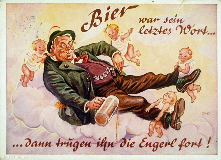 Az 1920-as években még ilyen aranyos rajzolt plakátokkal reklámozták a fesztivált, ami idén szeptember második felétől, október 4-ig tartott volna