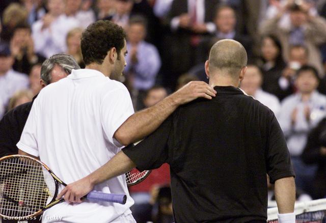 Pete Sampras és Andre Agassi