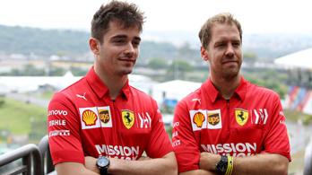 Leclerc örülne, ha Vettel maradna a csapattársa a Ferrarinál