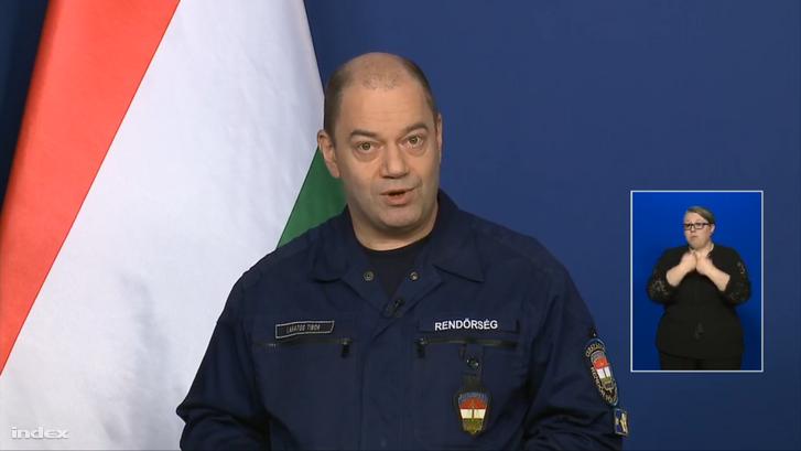 Lakatos Tibor a sajtótájékoztatón