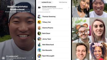 Már csetszobákban is lehet videózni a Facebookon