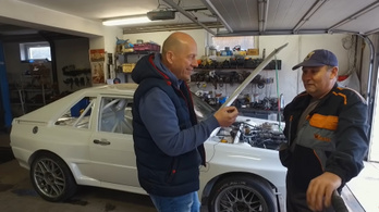 Legenda épül-Audi Sport Quattro
