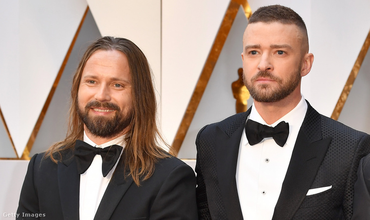 A 2017-es Oscar-gálán Martin is ott volt, Justin Timberlake és Karl Johan Schuster társaságában.
