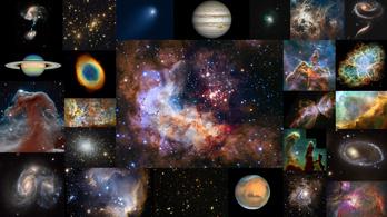Három évtizede szállítja nekünk az univerzum csodáit