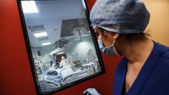 Tovább csökkent a kórházban kezelt olasz fertőzöttek száma
