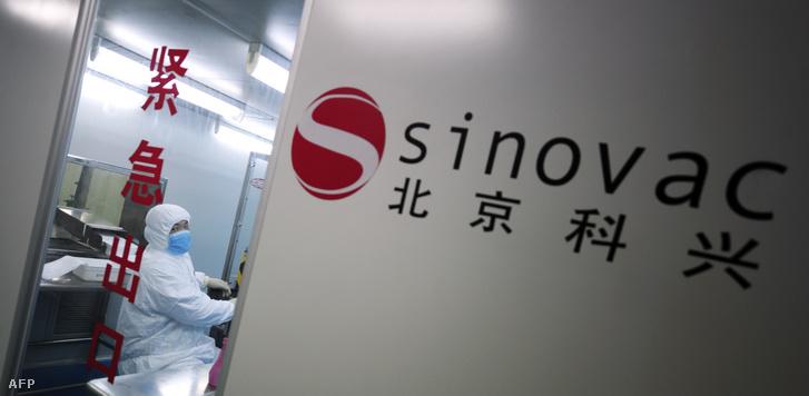 A Sinovac Biotech laborja Pekingben 2009-ben