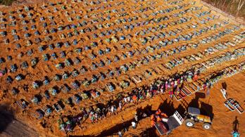 Tömegsírokat ásnak Amazóniában koronavírus áldozatai miatt