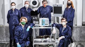 37 nap alatt fejlesztett tömeggyártásra is alkalmas lélegeztetőgépet a NASA